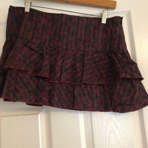 Ben Sherman mini skirt.